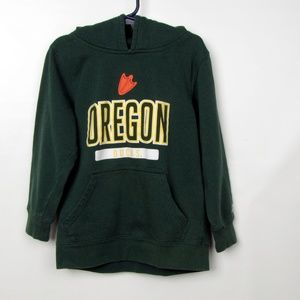 Russell Oregon Ducks Green Kid Hood Sweatshirt 6/7